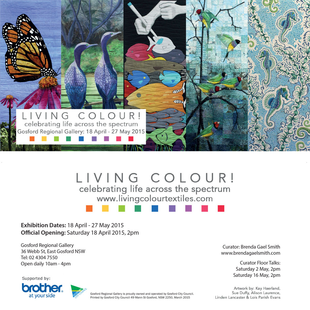 Invitation to Living Colour at Gosford Regional Gallery