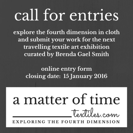 A Matter of Time Call for Entries