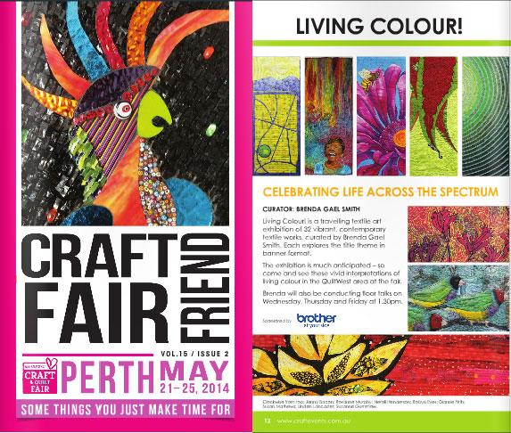 Craft Fair Friend Brochure