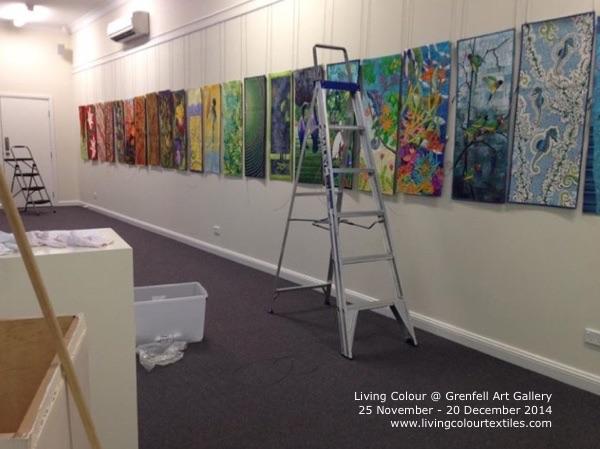 Installation at Grenfell
