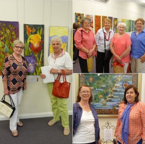 visitors to Grenfell Art Gallery