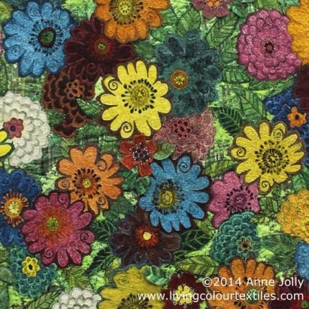 Anne Jolly - Flower Power Detail