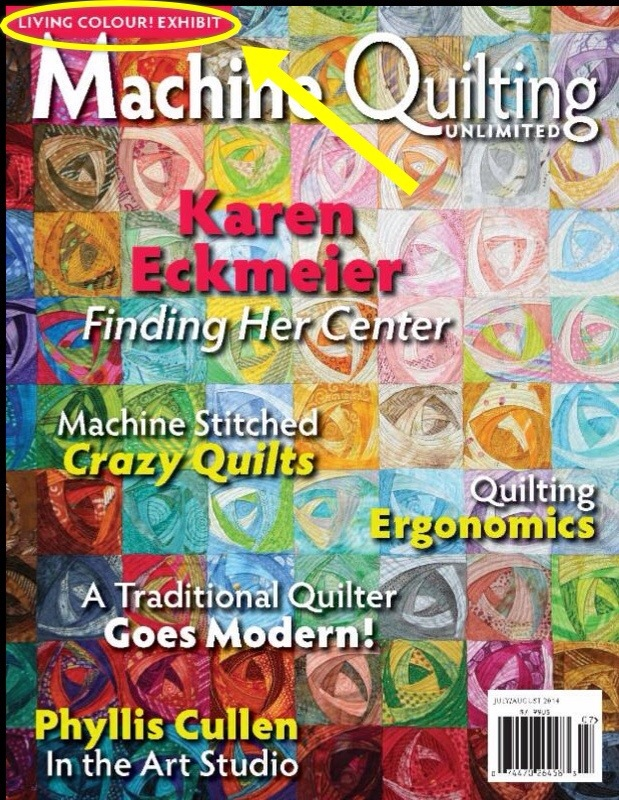 July/August 2014 Machine Quilting Unlimited